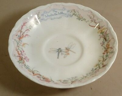 Royal Albert Wind in the Willows Saucer ONLY Portlys Return 1987 Bone China