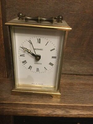 Vintage Metamec Carriage Clock