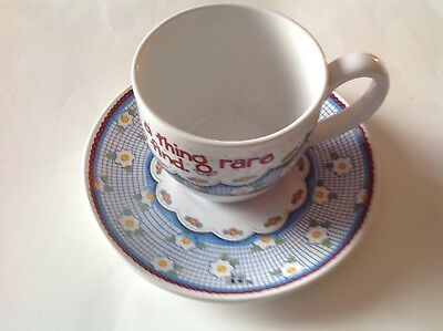 Mary Engelbreit – A Constant Friend is a Thing Rare…. Tea Cup & Saucer Set