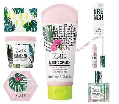 Zoella Beauty Splash Botanics Range - Limited Edition 2018 Release - Fast Post
