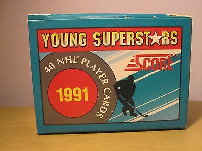 1991 Score Hockey Young Superstars 40 Nhl Player Cards In Original Box