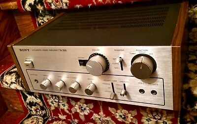 Beautiful Sony TA- 2650 Stereo Power Amp Clean Tested 110%
