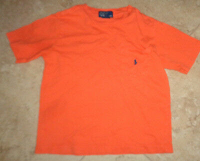 Orange Ralph Lauren Polo t-shirt youth size 5