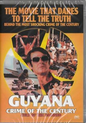 Guyana Crime Of The Century DVD New and Sealed Australia All Regions