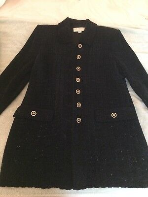 ST JOHN COLLECTION Sparkle Black Skirt Suit 8 - Evening