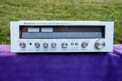 Kenwood Model KR-4070 AM/FM Stereo Receiver, works well. Clean unit.