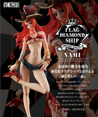 28cm Nami One Piece FDS Captain Pirates Flag Diamond Ship Figuren Figur Naomi Ho