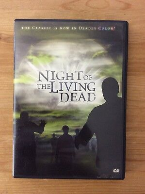 Night of the Living Dead, 1968, DVD Colorized Version Included *No tax*