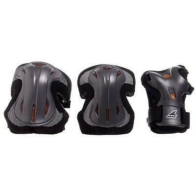 Rollerblade LUX TriPack, LARGE, SILVER - Knee, Elbows & Wrist Guards. 50% OFF!