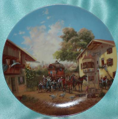 Vintage Christian Luckel Germany No 2 ~ Bradford Bradex Plate Estate Collectable