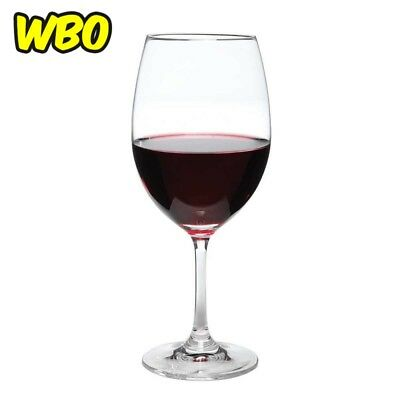 BIG RED WINE GLASS Perfect Stemware 6 Set Made from Crystal 18 Oz Lead Free New