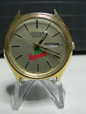 Squirt Soda 1970s Citizen Quartz Watch