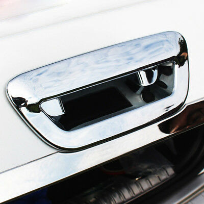 For Jeep Compass 17 2018 Chrome Rear Trunk Door Handle Bowl Tailgate Cover Trim