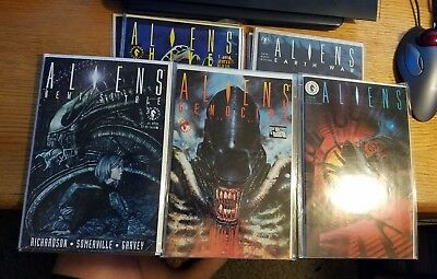 Aliens Hive, Genocide, Earth Wars, Newt's Tales Full Runs 14 Total Issues