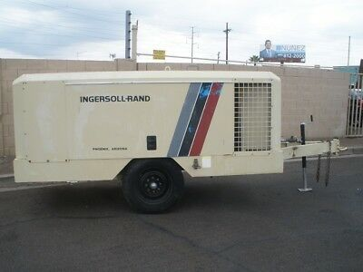Ingersoll Rand 375 Cfm Towable Mobil Air Compressor Ex. Condition