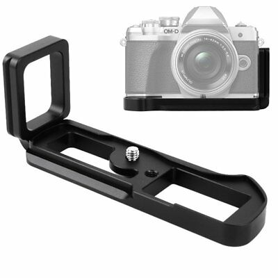 Quick Release L Plate Bracket Hand Grip for Olympus E-M10 Mark III EM10III US