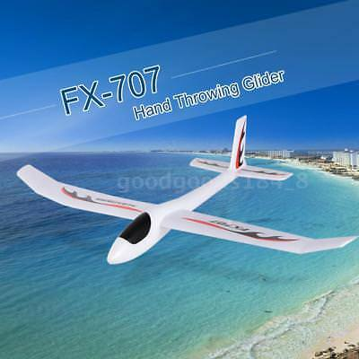 FX-707 1210mm Wingspan Hand Throwing Glider Fixed Wing RC Drone DIY Airplane