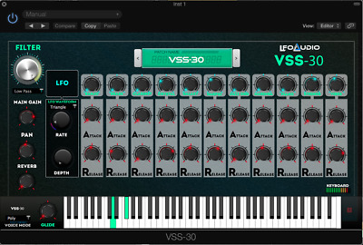 CASIO VL-TONE VST Plug-in samples sounds synth strings analog MAC