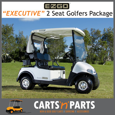 E-Z-GO Executive Golfers Package RXV Freedom 2 Seat Golf Cart Buggy