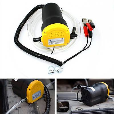 60W Car Motorbike Electric Transfer Pump Extractor Oil Fluid Diesel Siphon 12V