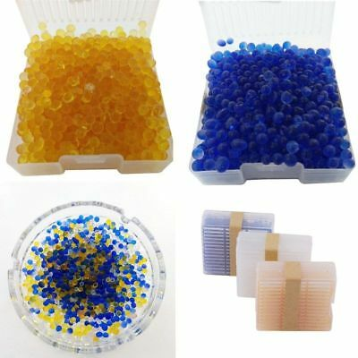 1pc Reusable Silicagel Moisture Absorber Desiccant Box Color Changing Indicating