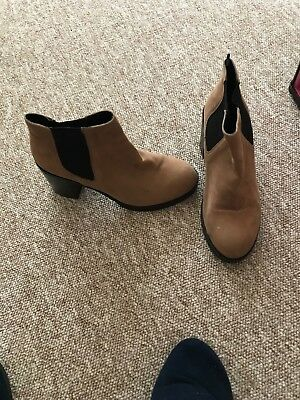 brown ankle boots size 5