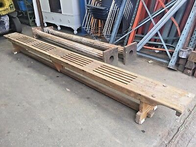 Vintage School Gym Bench, Retro Perfect For A Kitchen Or Hall West Yorkshire