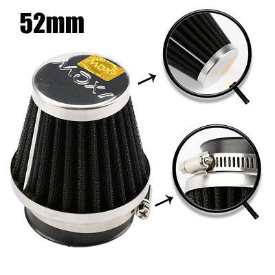 52mm Universal Auto Vehicle Car Air Filter Cold Air Intake Filter Pod Cleaner