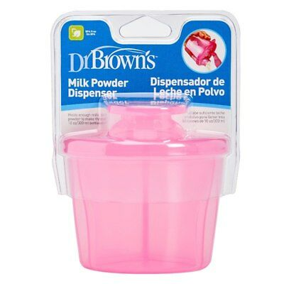 Dr Brown's Milk Powder Dispenser Pink