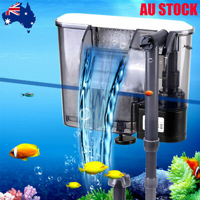 Aquariums Biochemical Water Filter Hang On Fish Tank Filtration Water Pump
