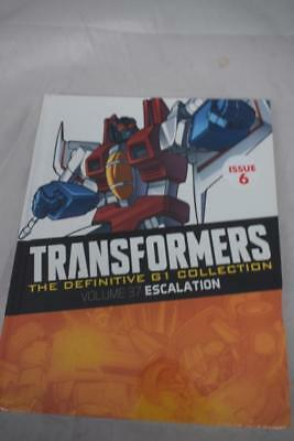 TRANSFORMERS The Definitive G1 Collection Vol 37 Escalation (Hardback)