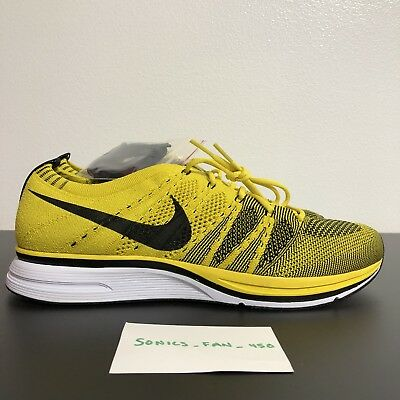 1c4090a0958d6 ... top quality nike flyknit trainer bright citron yellow black white  ah8396 700 mens size 10 f8e11