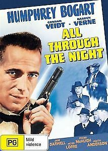 All Through The Night DVD New and Sealed Australia Regions 2 4 and 5