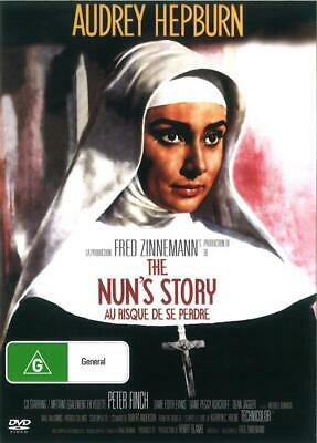 The Nuns Nun's Story DVD Audrey Hepburn New and Sealed Australia All Regions