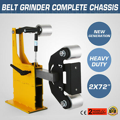 """2x72"""" Belt Grinder Knife Making Complete Chassis Axe Competitive Industrial Safe"""