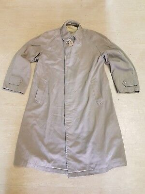 Genuine Vintage Original British Army Cotton Raincoat Size 8 Dated 1965 #2