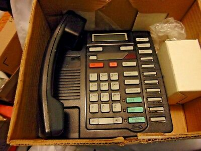 Northern Telecom Business Meridian Black Phone Home Telephone M 8417