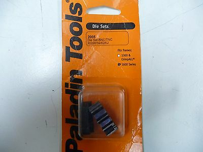 Paladin Tools, 2005 Die Set suit Paladin / Greenlee 1600 crimp tool x 20 pieces