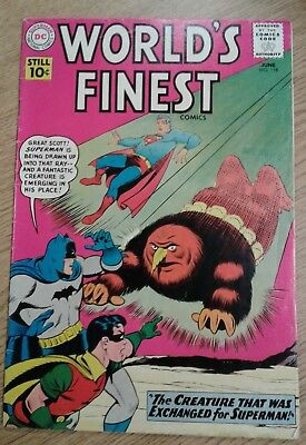 World's Finest     # 118      1961        VG
