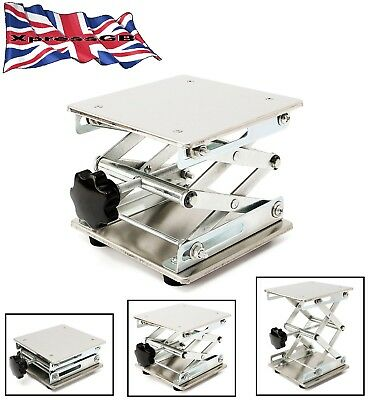 Lab Stand Table Scissor Lift laboratory 150*150mm GB