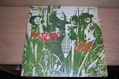 LP 60er Jahre Jethro Tull '' This Was '' Made in England 1968 Vinyl Top