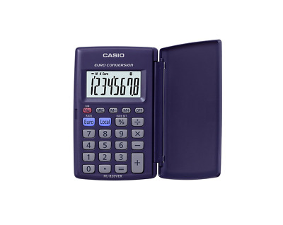 CASIO HL-820VER Euro Conversion Calculator (K17