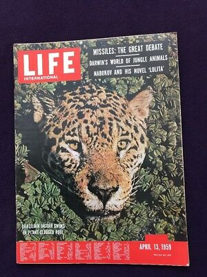 LIFE magazine Apr 13th 1959 Wildlife Animals US RUSSIA MISSILES Sphinx