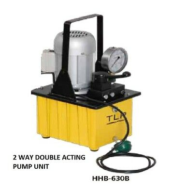 Electric Driven Hydraulic Two Way Double Acting Pump 10,000 Psi, £304.00 + Vat