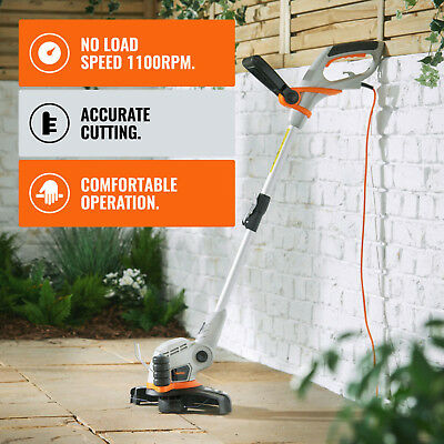 Corded Electric Grass Trimmer 550W Lawn Weed Cutter Strimmer Garden Cutting Tool
