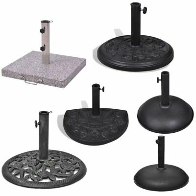 Heavy Duty Parasol Base Patio Stand Umbrella Holder Various Pattern Home Garden