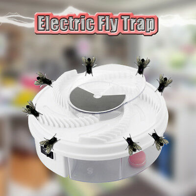 Automatic Flycatcher Electric USB Fly Trap Catcher Pest Control Mosquito Zapper