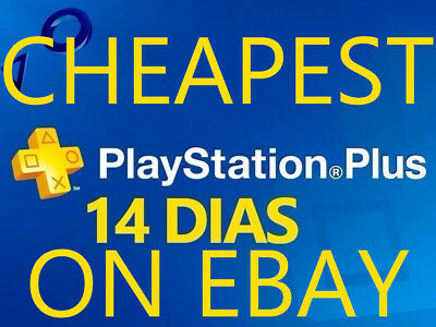 2 ACCOUNT PS PLUS 14 Days for PS VITA / PS3 / PS4
