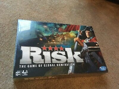 RISK The Game of Global Domination 2010 Hasbro War Board Game Factory Sealed New