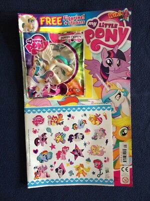 mlp my little pony magazine issue 45 princess celestia figure uk